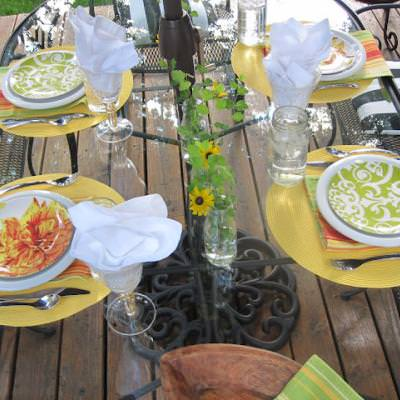 Outdoor Tablescape {outdoors}