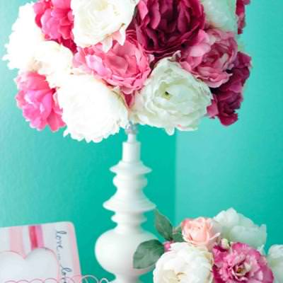 Peony Lampshade {Lamps}