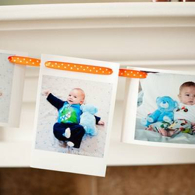 Photo Garland {wall pictures}