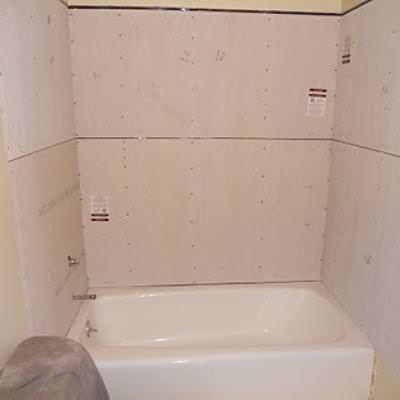 Prepping a Shower for Tile {how to install a bathroom}