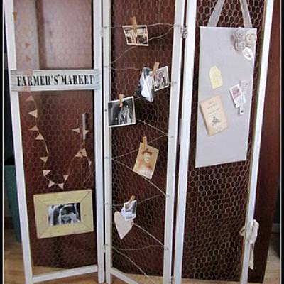 Repurposed Room Divider Screen Room Dividers Tip Junkie