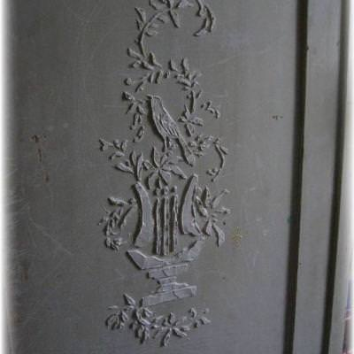 Stenciled Stucco {step by step}