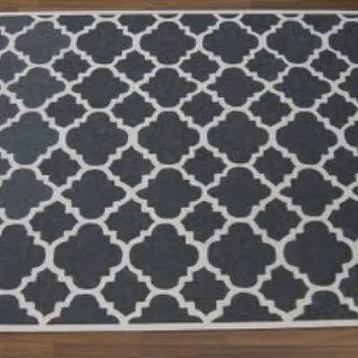 West Elm Inspired Trellis Rug {Rugs}