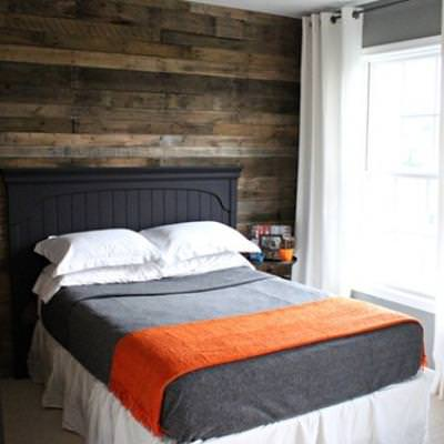 Wood Accent Wall {wall accent}