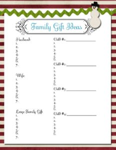 Christmas_Family Gift Ideas