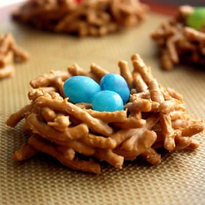 Bird's Nest Cookies  {recipe how to}