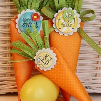 Easter Bunny Carrots {DIY Ideas}