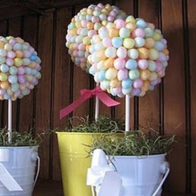 Easter Candy Topiary {Craft How-To}