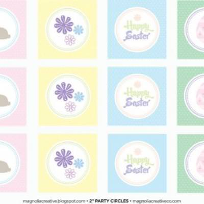 Easter Party Printables {Free}