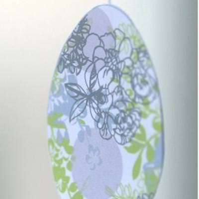 Hanging Easter Egg {Easter Printables}