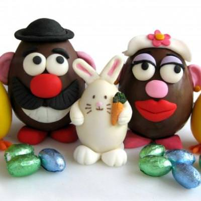 Playing with Food – Easter eggs and rolled fondant