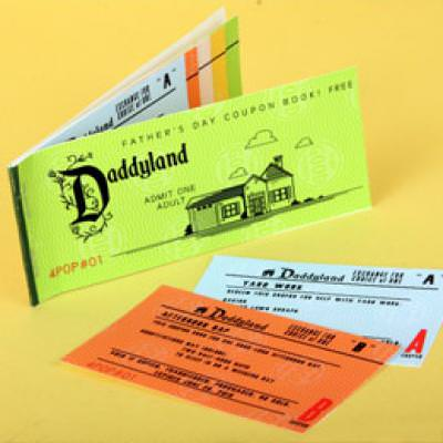 Daddyland Coupon Book {Printables}