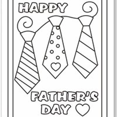 Fathers Day Coloring Pages for Kids Tip Junkie