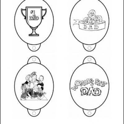 Father\'s Day Pencil Topper Printables {Fun Coloring Activities for ...