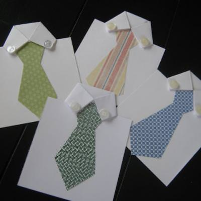Father's Day Tie Card {Cards}