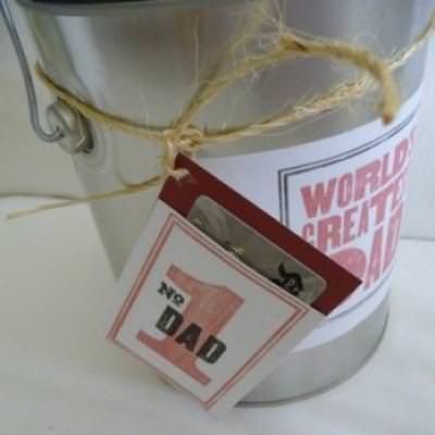 World's Greatest Dad Gift {printable}