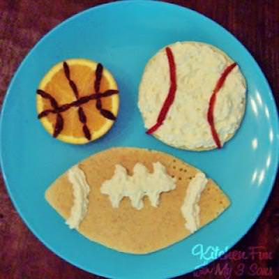 4 Mancake Ideas for Father's Day Breakfast!