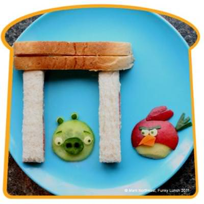 Angry Birds Lunch {Edible Crafts Kids}