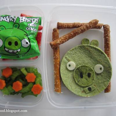 Angry Birds Pig Lunch