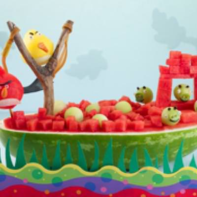 Angry Birds Watermelon Boat