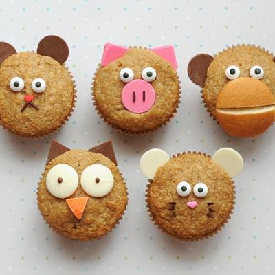 Animal Breakfast Muffins {For The Kids}