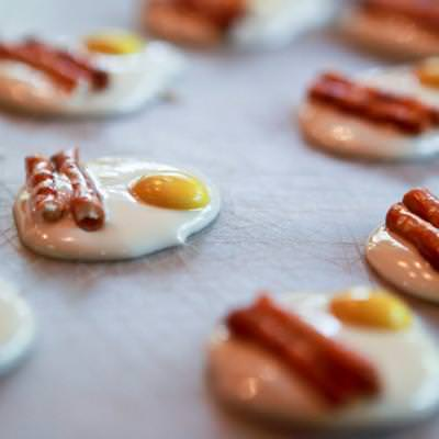Bacon and Egg Chocolates