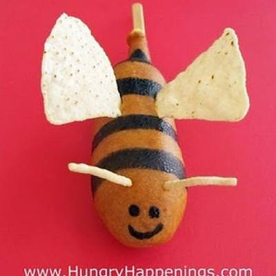Bumble Bee Corn Dog {Edible Craft}