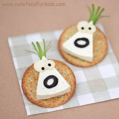 Cheese Monsters {Easy Crafts}