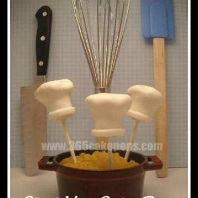 Chef Cat Cake Pops {Crafts with Food}