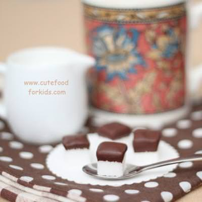 Chocolate Dipper Sugar Cubes {How-To}
