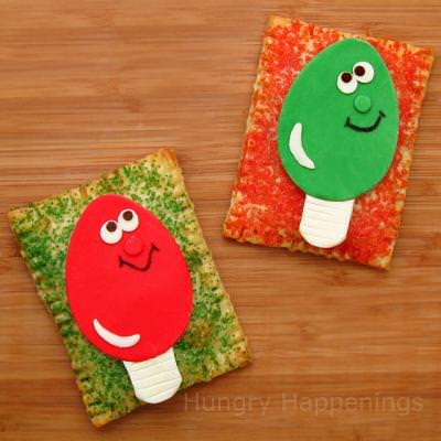 Chrsitmas Light Breakfast Pastry {Easy Crafts}