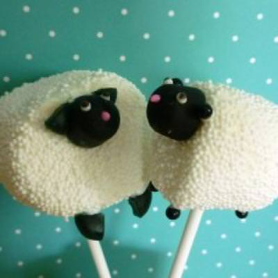 Easter Lamb Marshmallow Pops {How-To}