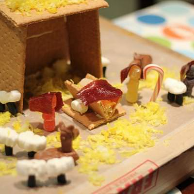 Edible Nativity {Edible Crafts}