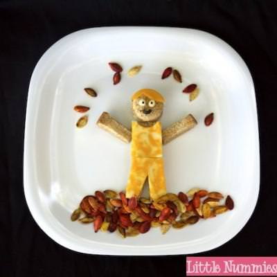 Fall Leaves Lunch {Fall Edible Crafts for Kids}