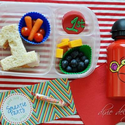 First Day of First Grade Bento Lunch