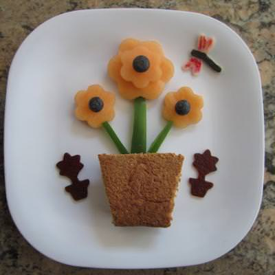 Flower Pot Lunch