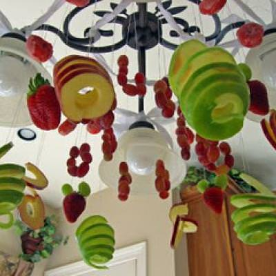 Fruit Chandelier {Edible Decor}