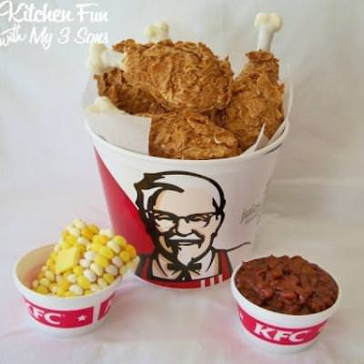 KFC Chicken and Sides...April Fools!!