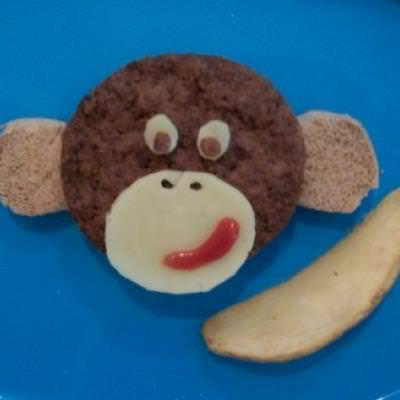 Monkey Burgers {Things To Make For Children}