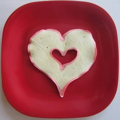 Open Heart Pancakes