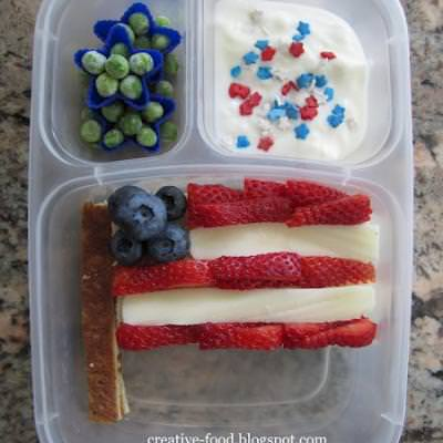 Patriotic Lunch to go