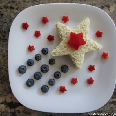 Patriotic Star Lunch