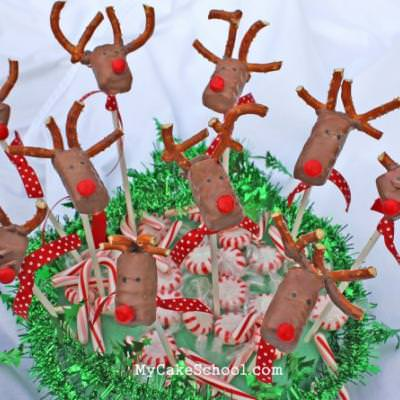 Reindeer Candy Pops {Candy Crafts}