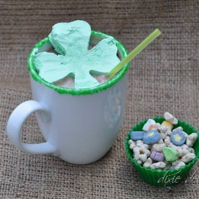 Shamrock Hot Chocolate