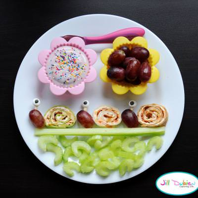 Snail Snack {Kid Food Crafts}