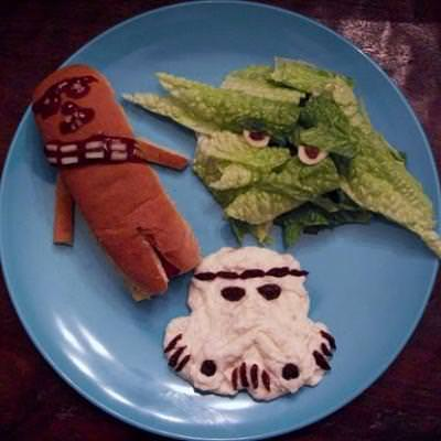 Star Wars Dinner for Kids