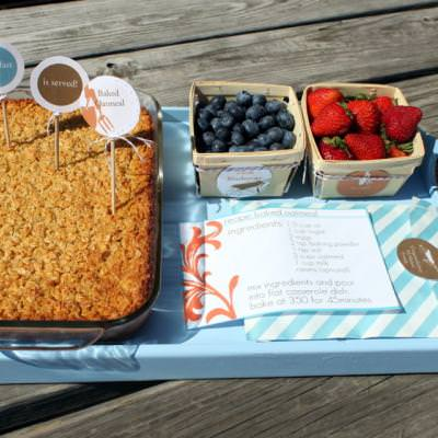 Surprise Breakfast {Baked Oatmeal}