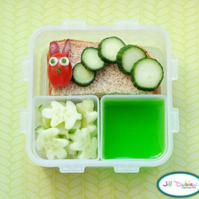 The Very Hungry Caterpillar Bento {Edible Crafts for Preschoolers}