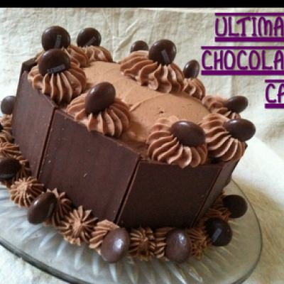 Ultimate Chocolate Cake + Decorating Tutorial