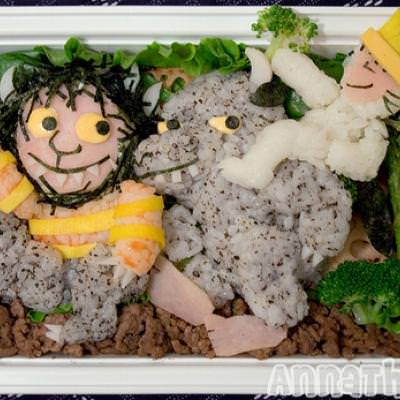 Where the Wild Things Are Bento {Edible Art Projects}